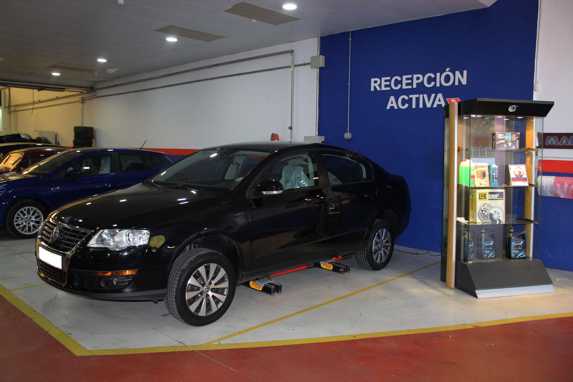 Recepción activa vehículos